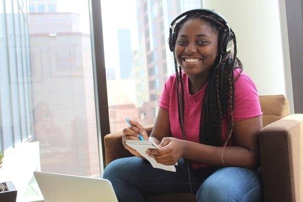 Radio Camp reporter Ayo Olagbaju