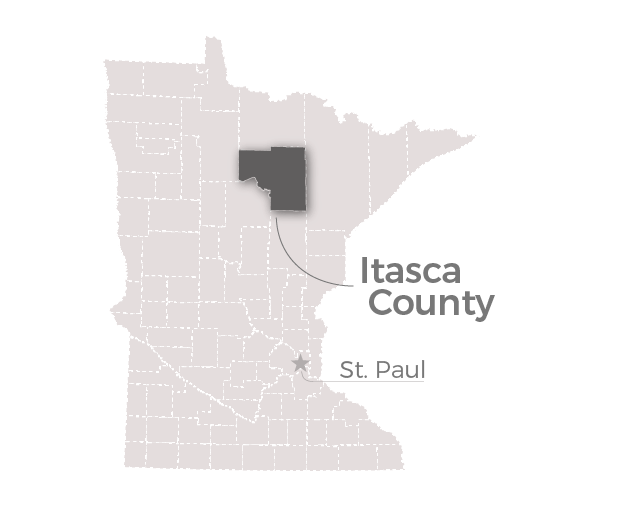 Map: Itasca County