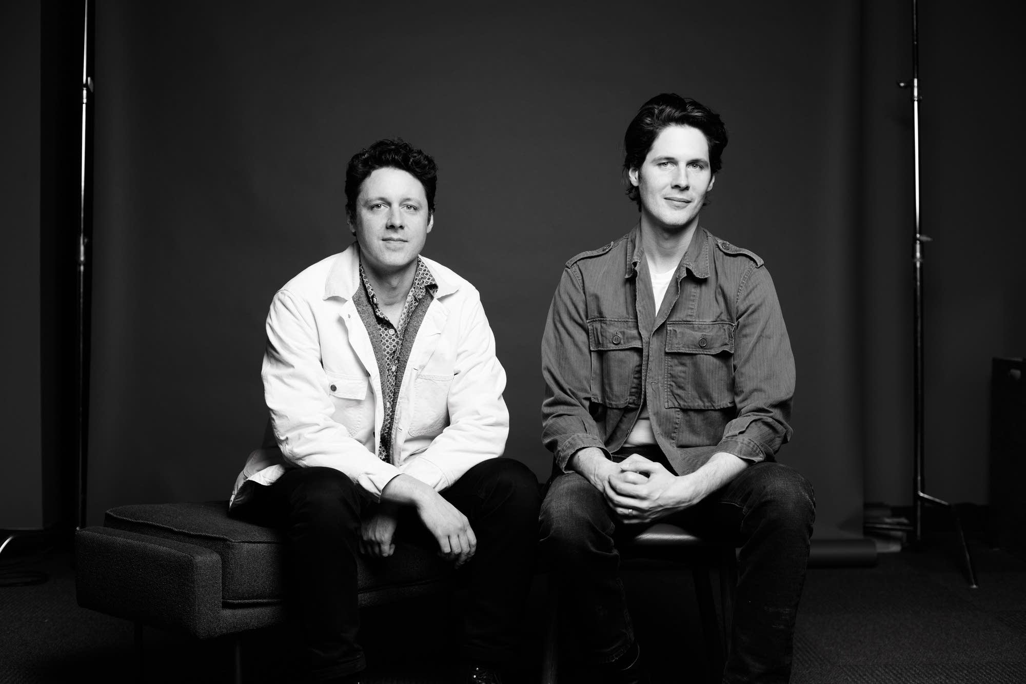 Page Burkum and Jack Torrey of The Cactus Blossoms - portrait