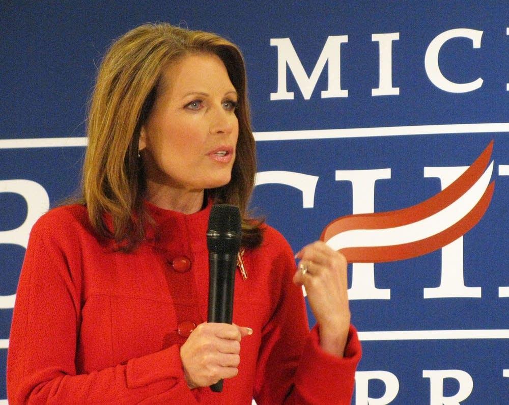 Bachmann campaigns in Iowa