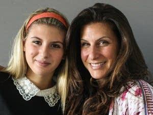 Maya Altman and her mother, Robyn Altman