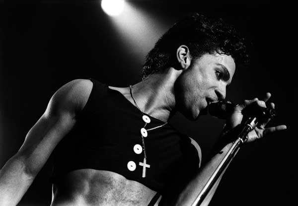 Prince on stage in The Netherlands