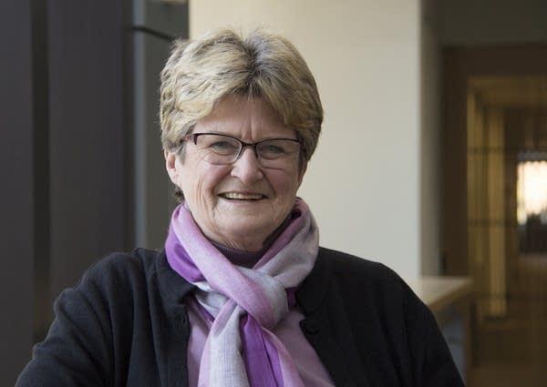 Outgoing Minneapolis city council president Barb Johnson