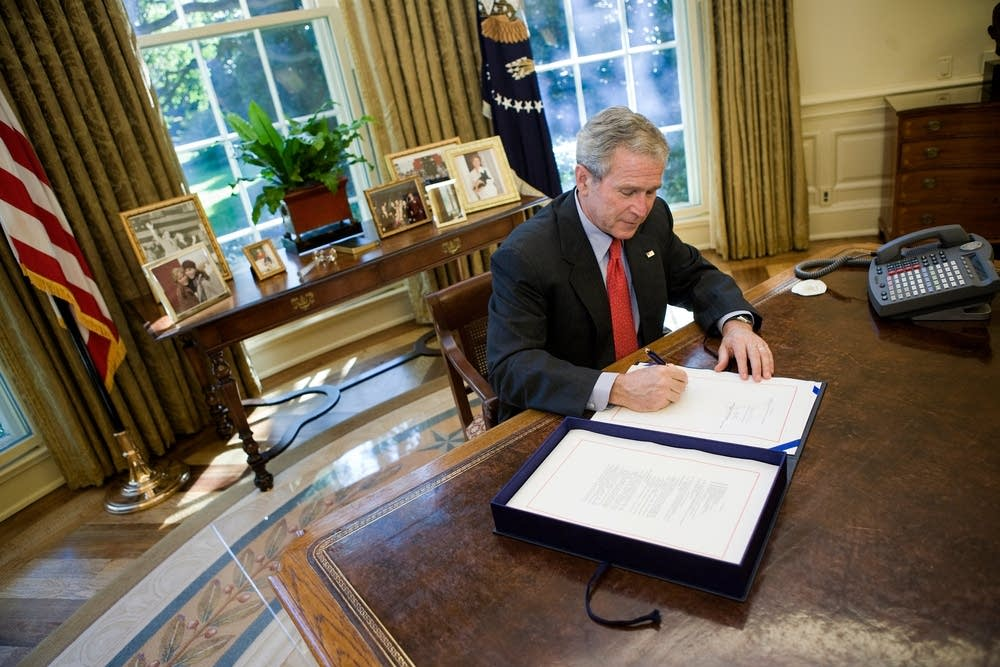 Bush signs bill