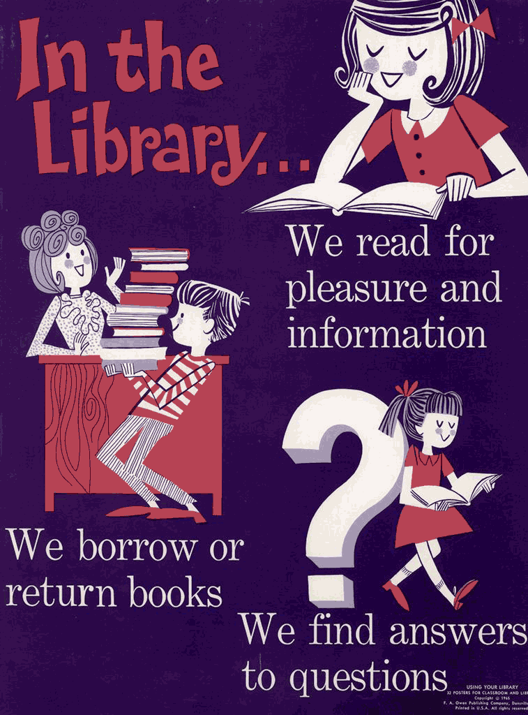 Blast from the bookish past: Learning to use the library ...