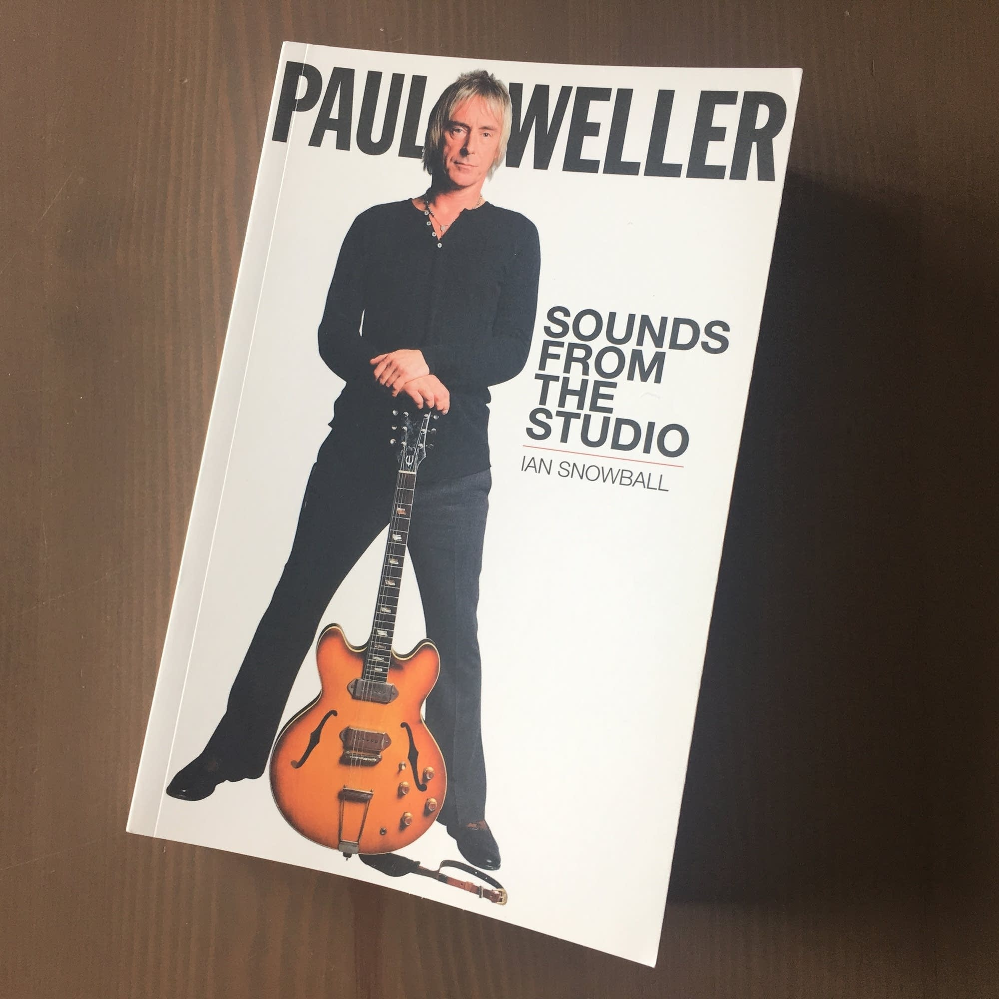 Ian Snowball's 'Paul Weller: Sounds from the Studio.'