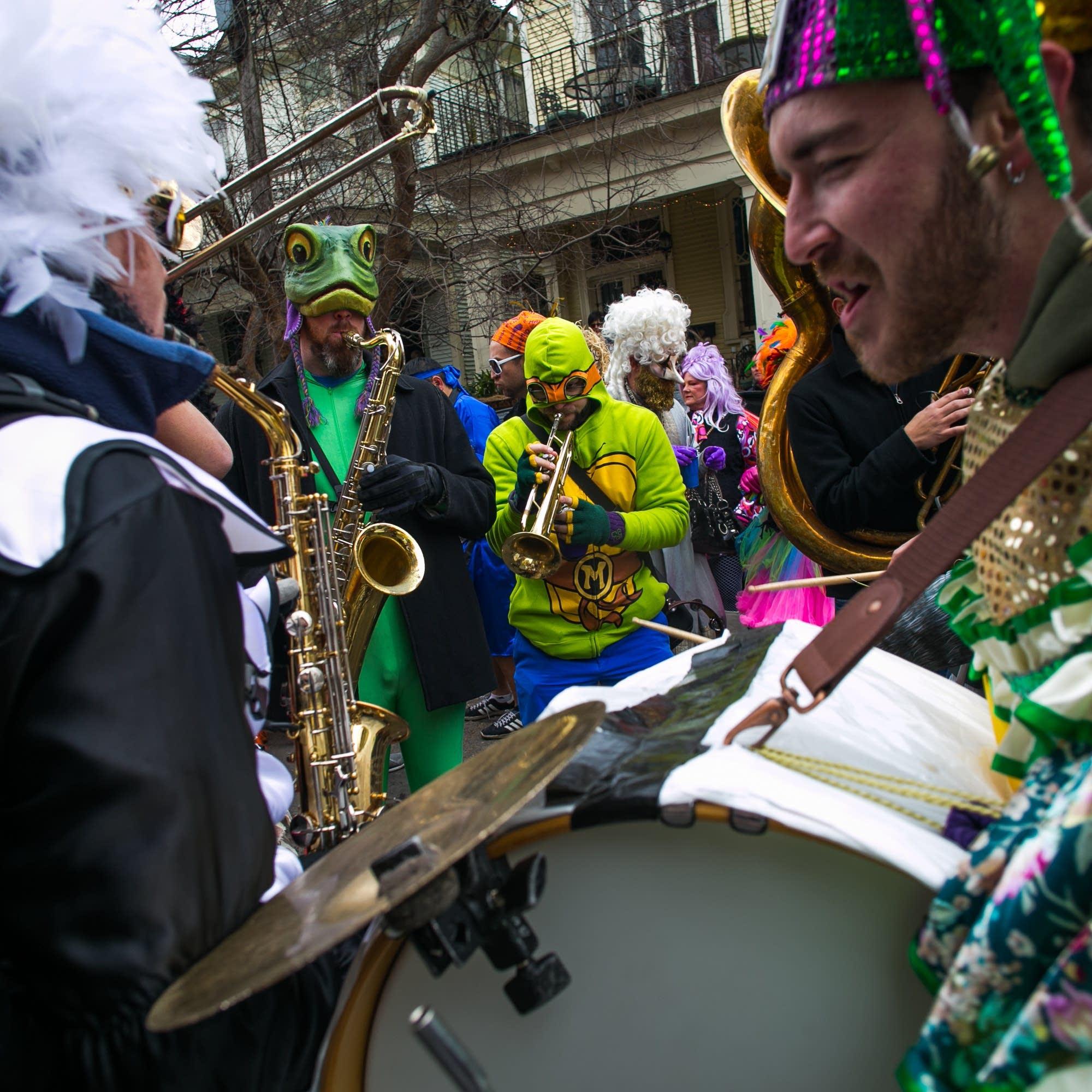 Mardi Gras band 2