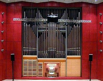 1996 Rieger organ at Stuttgart Conservatory Concert Hall, Germany