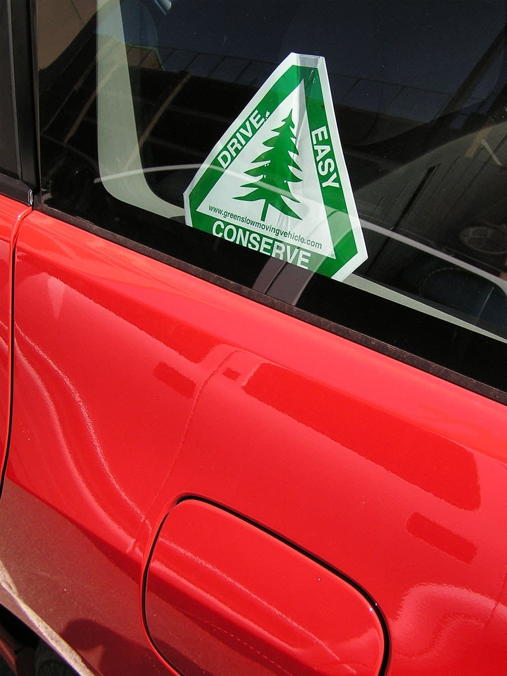 'Drive easy' decal