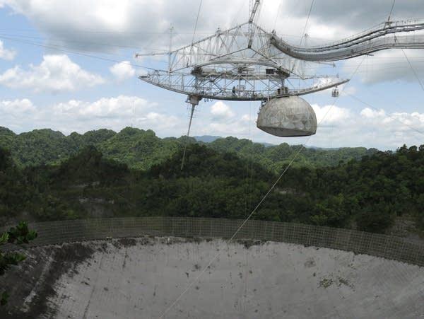 Arecibo Observatory in Arecibo, Puerto Rico