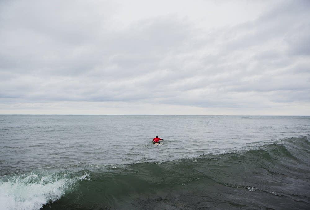Surfer Eric Wilkie