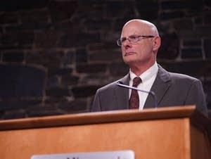 DNR Commissioner Tom Landwehr