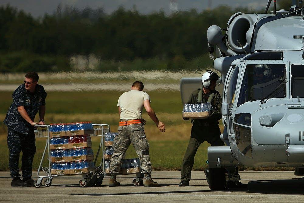 U.S. aid to Haiti