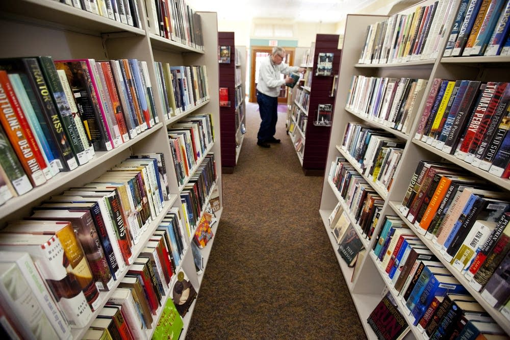 Reshelving books