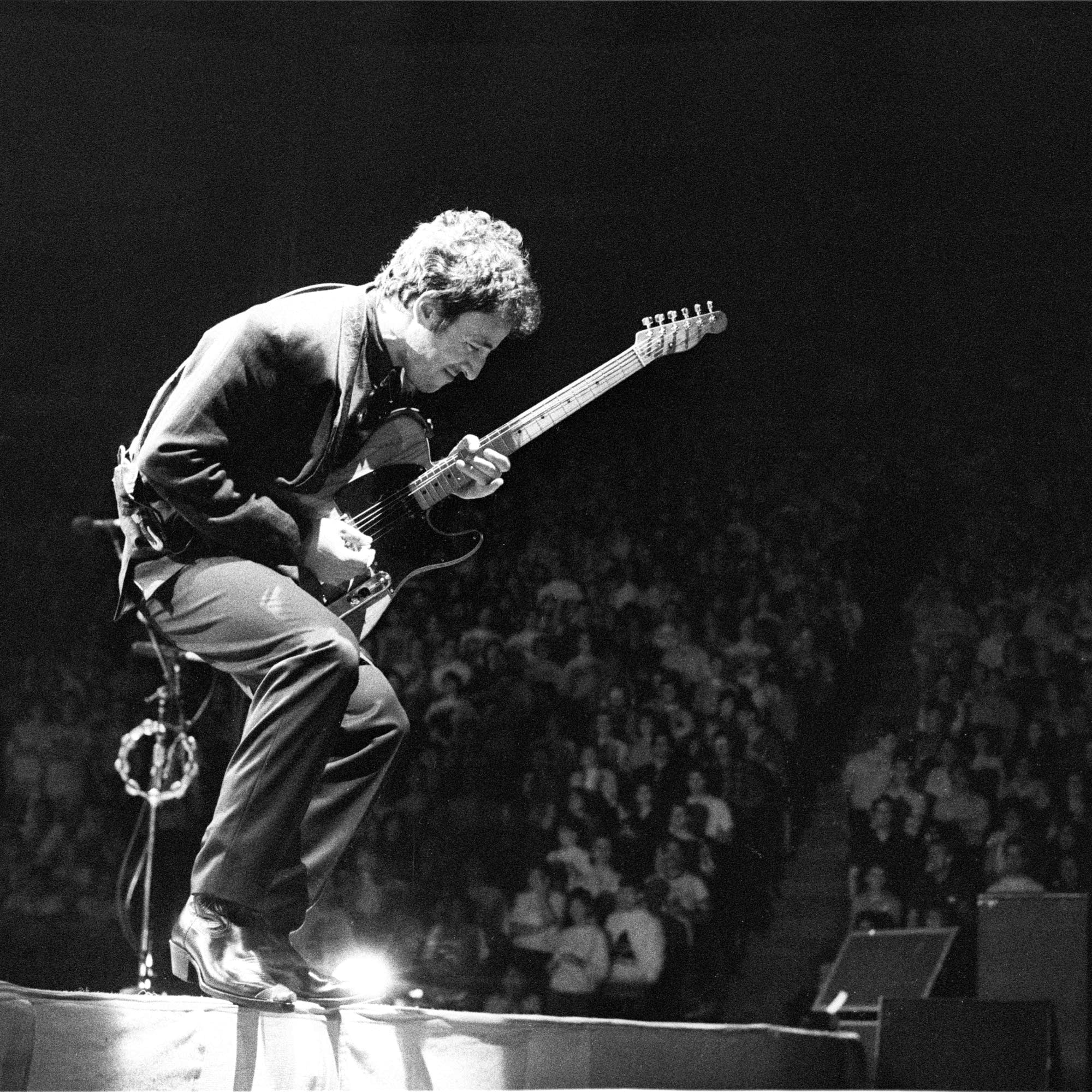 Bruce Springsteen at the Met Center, 1988.