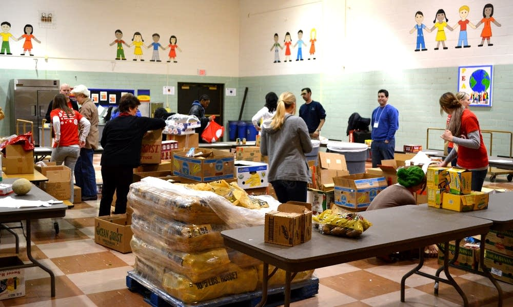 Maxfield School food pantry