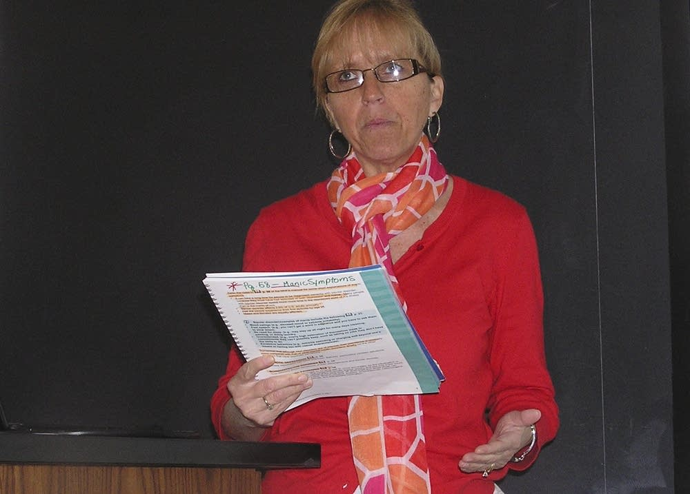 Instructor Lee Berlinquette