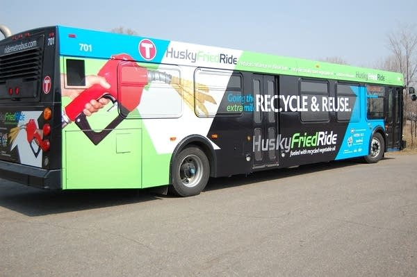 St. Cloud's new vegetable oil powered bus