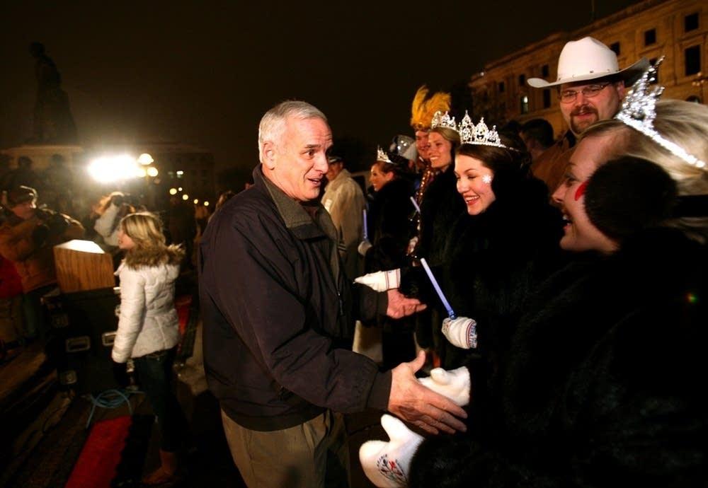 Dayton greets carnival royalty