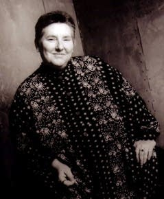 Joan Drury's author photo from the early 1990s.