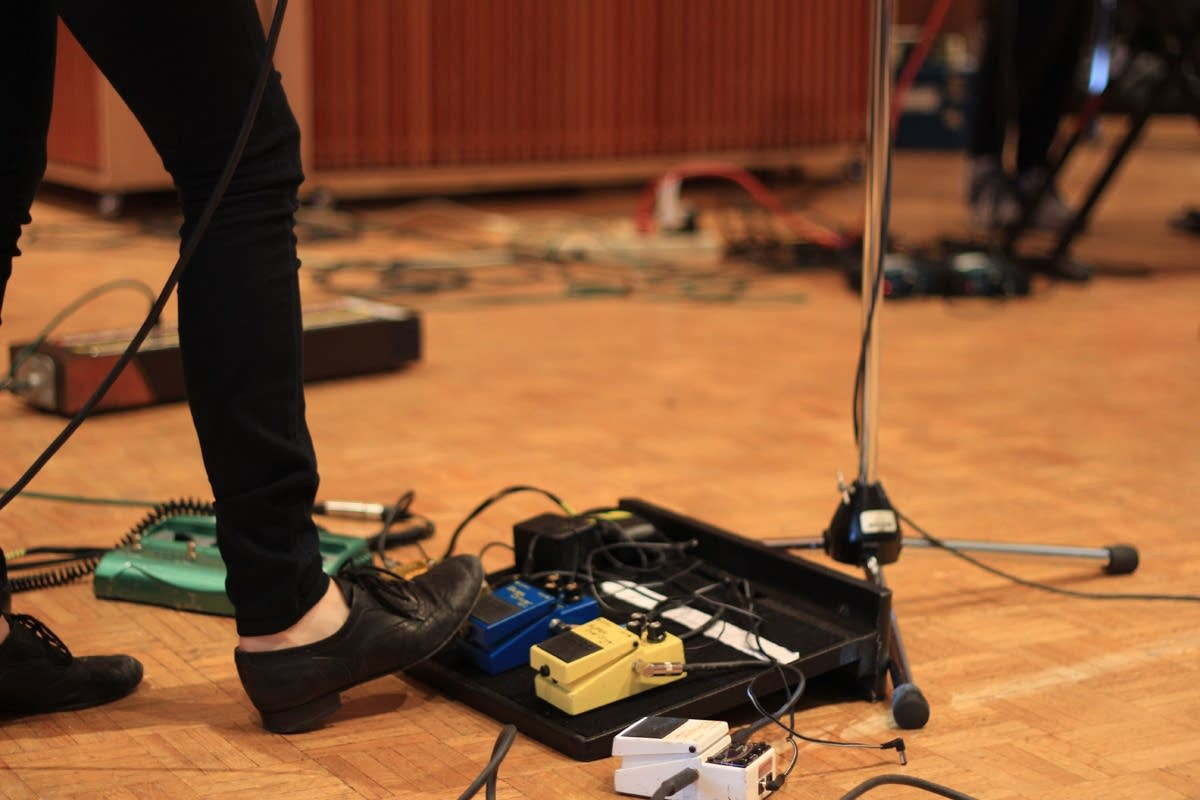 Carrie Brownstein's pedals