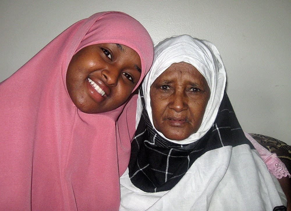 Sadiya and her mother