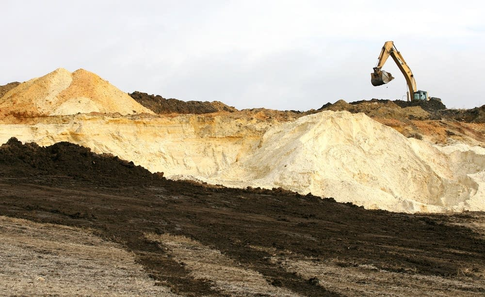 The Nisbit sand mine