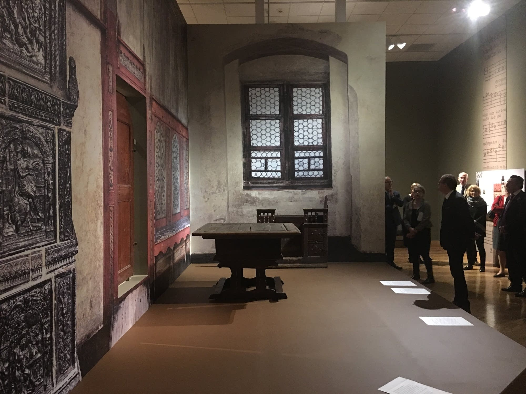 A reconstruction of Martin Luther's studio