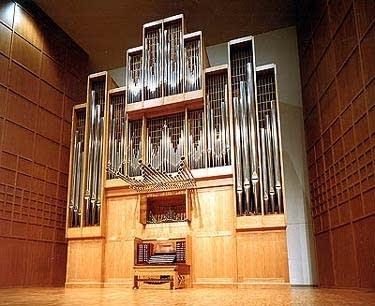 1986 Marcussen organ at Wiedemann Hall, Wichita State University, Kansas