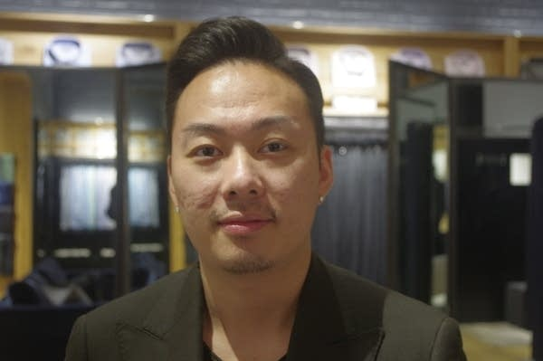 Jeremy Thao, assistant showroom manager at Indochino