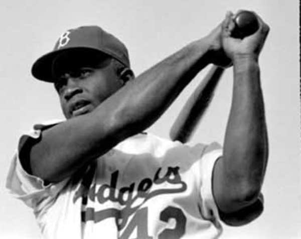 Robinson as a Dodger
