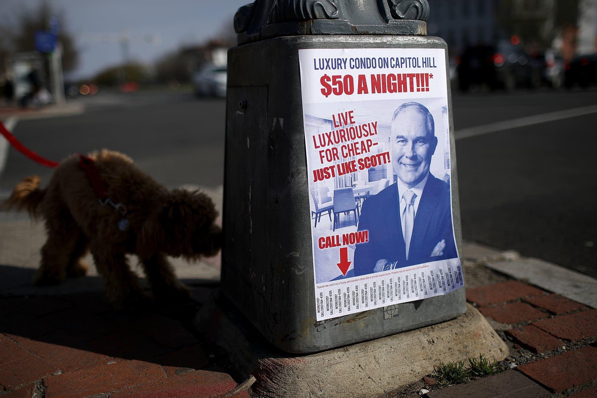 AP reports EPA's Pruitt spent millions on security, travel ...
