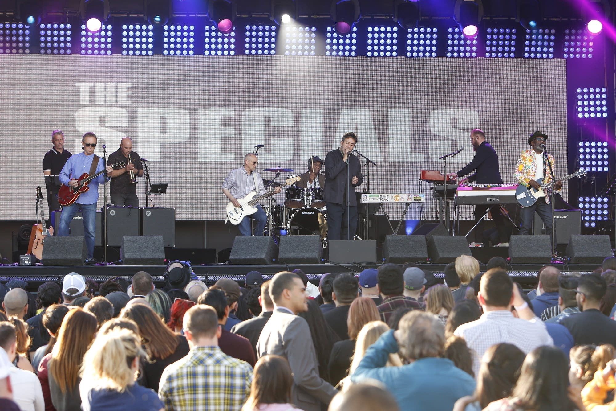 The Specials perform on 'Jimmy Kimmel Live!'