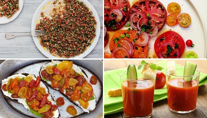 21 ways to eat tomatoes