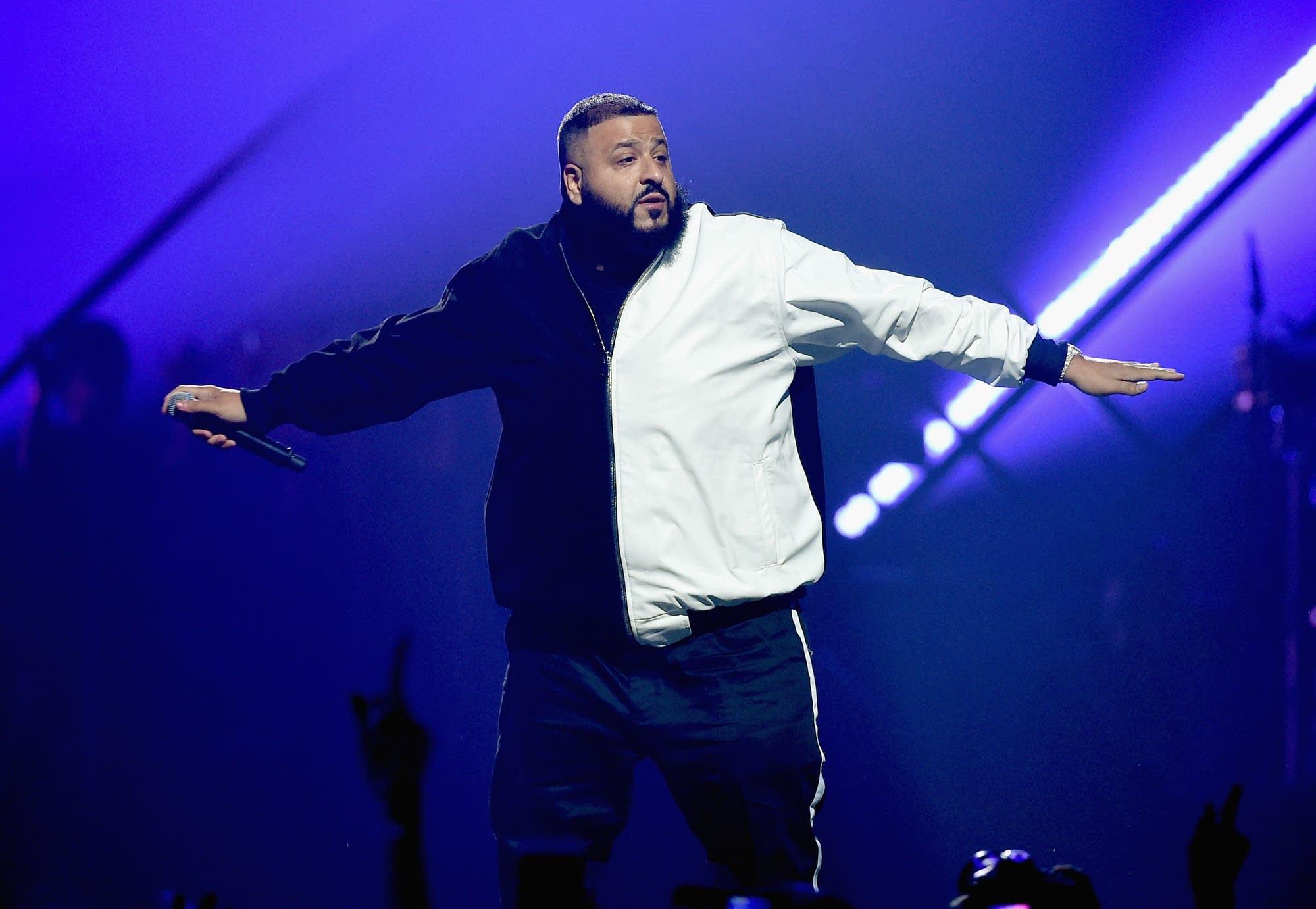 DJ Khaled performs in Minneapolis