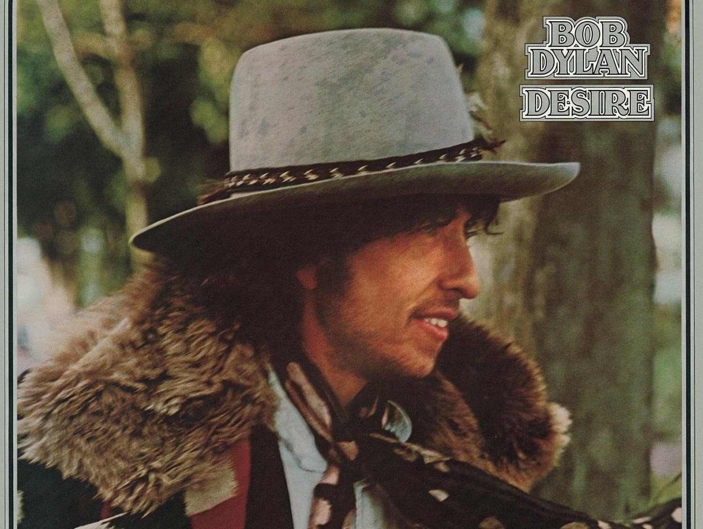 Bob Dylan 'Desire' album cover.