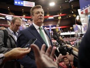 Trump Campaign Chairman Paul Manafort
