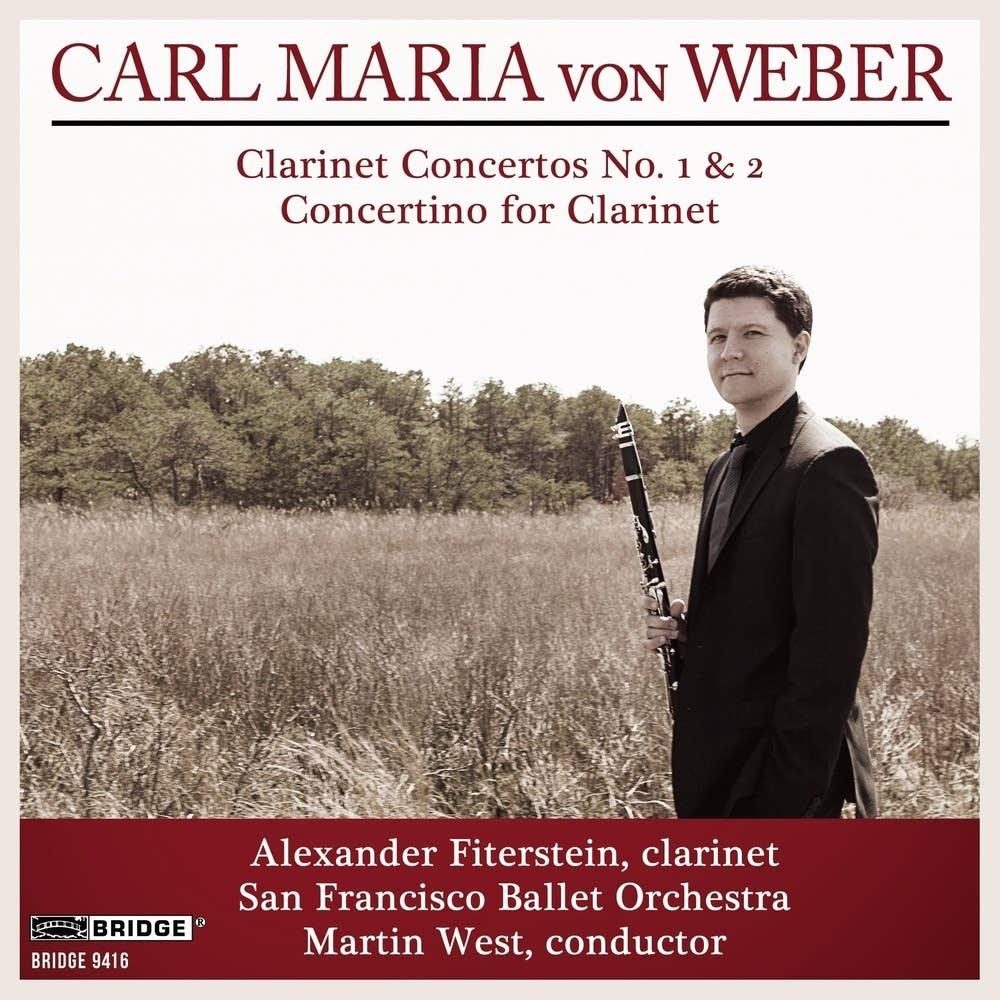 Fiterstein's album 'Carl Maria von Weber'