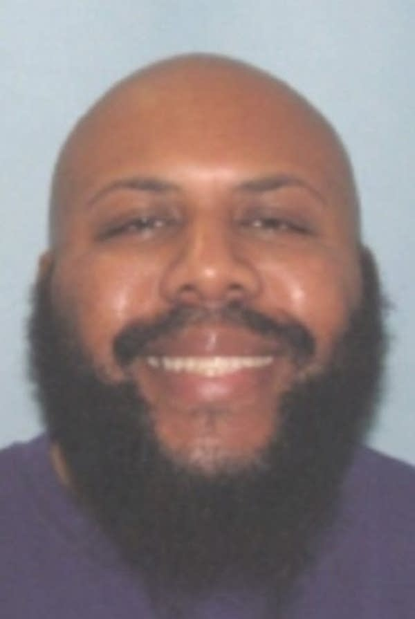 This undated photo provided by Cleveland police shows Steve Stephens.