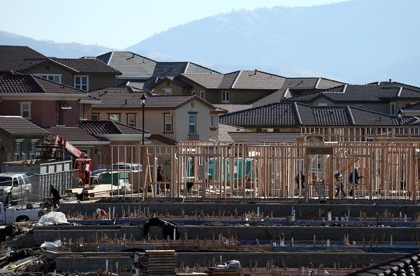 Home construction in California