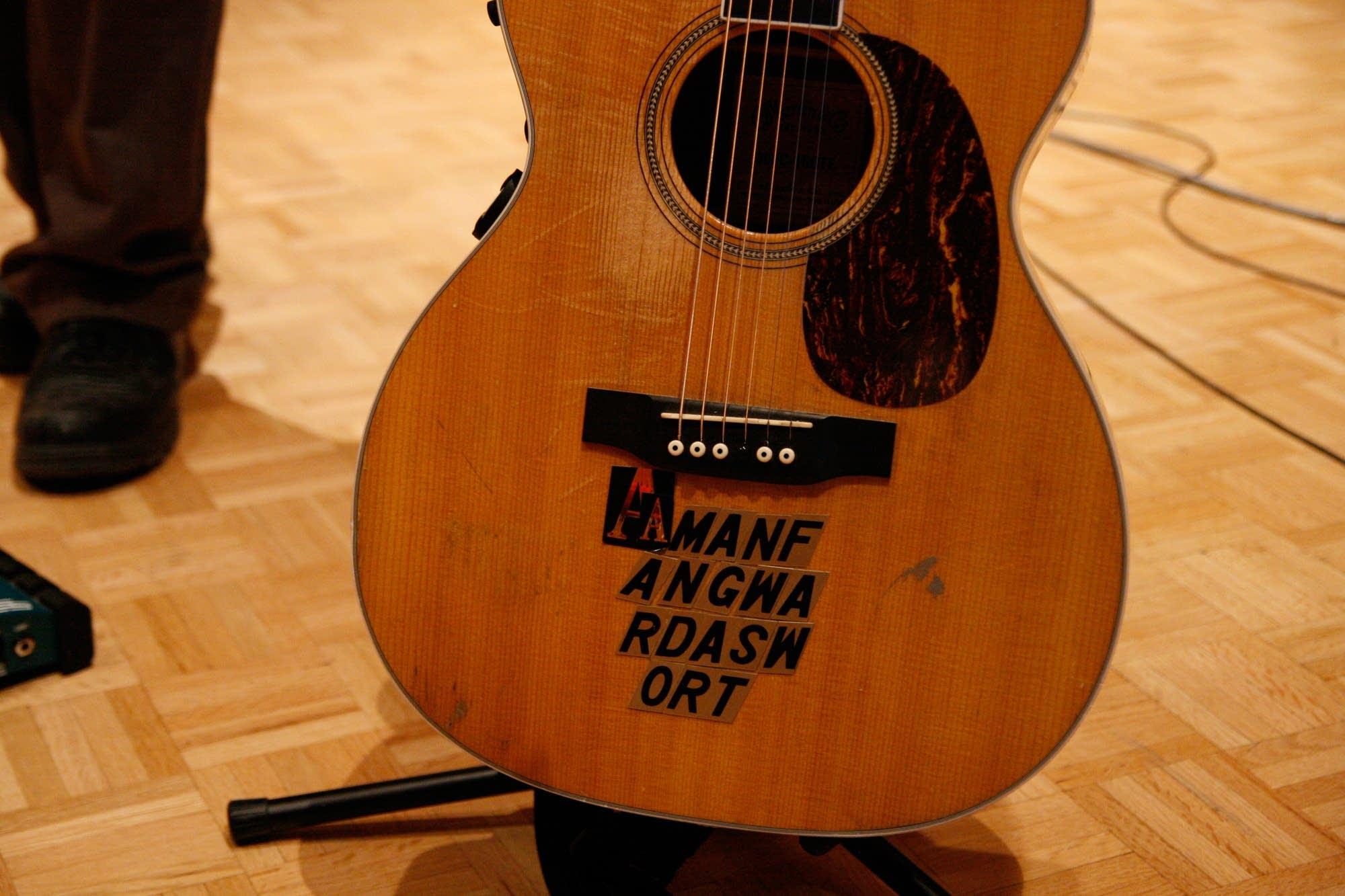 Doughty guitar phrase