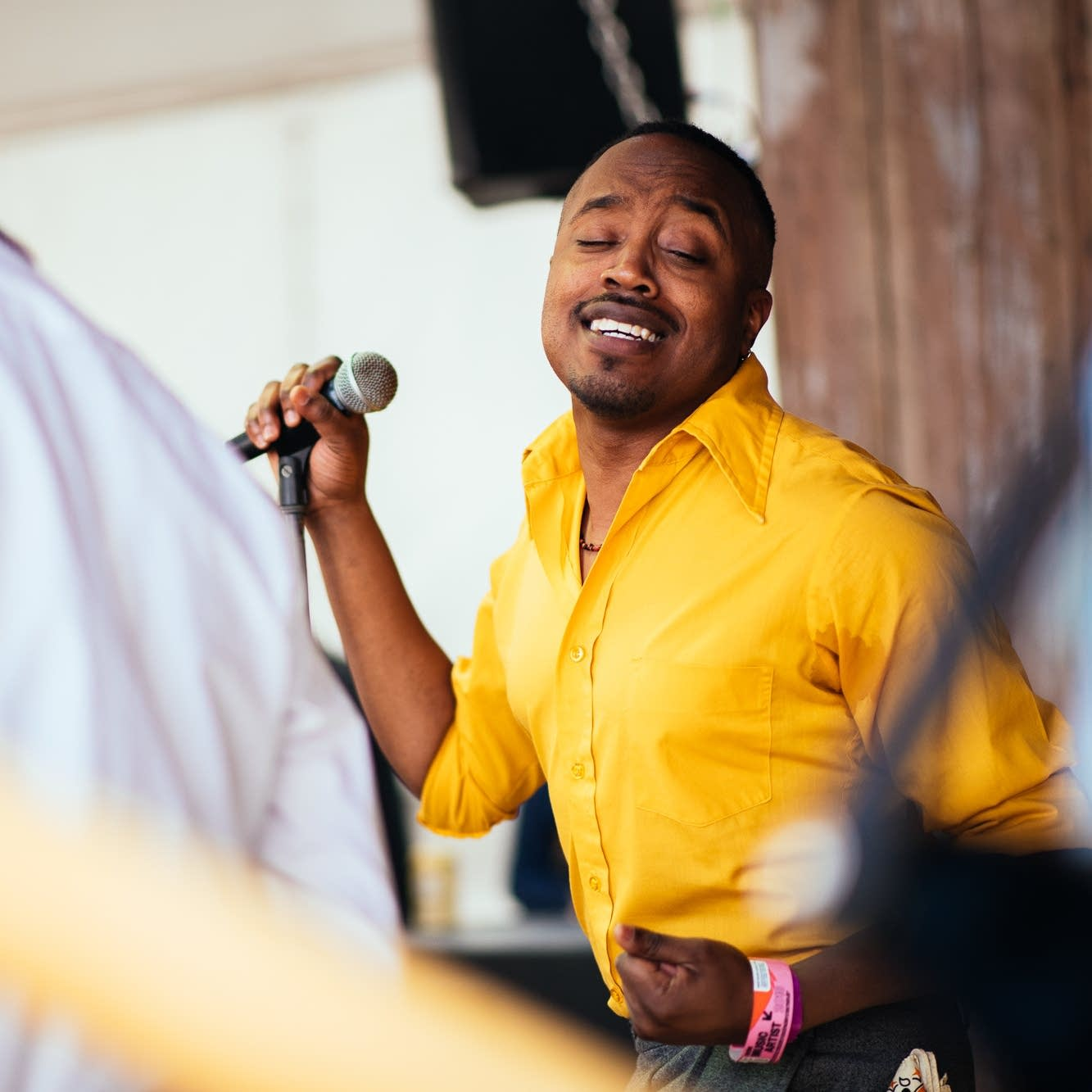 Durand Jones and the Indications live at the PledgeHouse SXSW