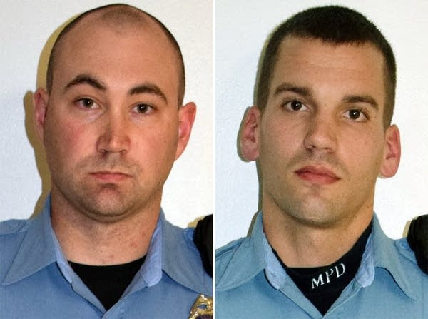 Officers Mark Ringgenberg and Dustin Schwarze