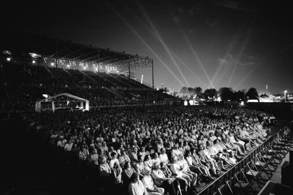Shows at the Grandstand at the State Fair are part of the experience.