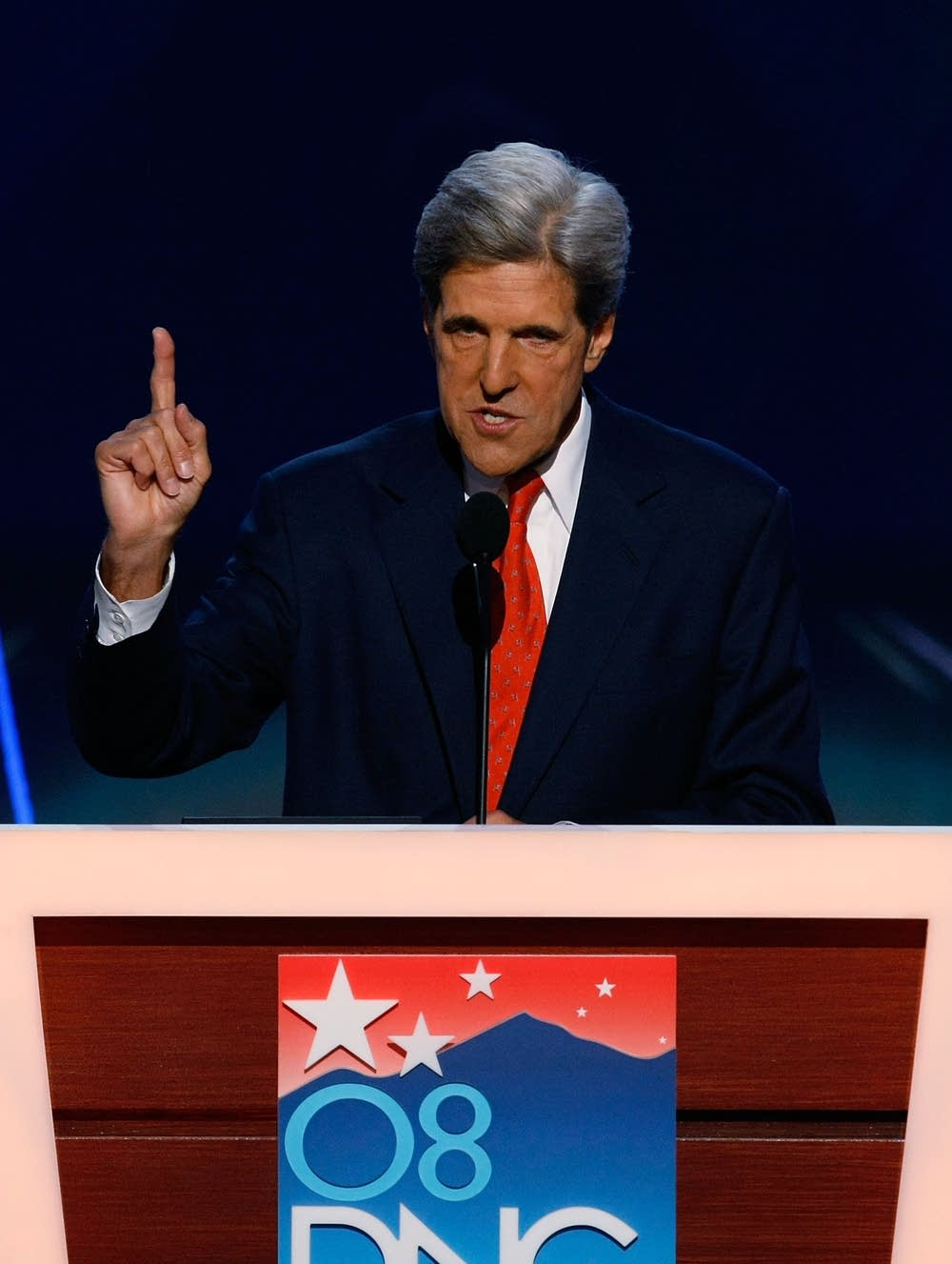 Sen. John Kerry at the DNC in Denver