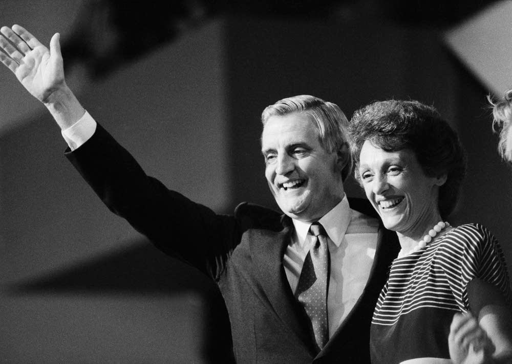 Walter, Joan Mondale in 1984