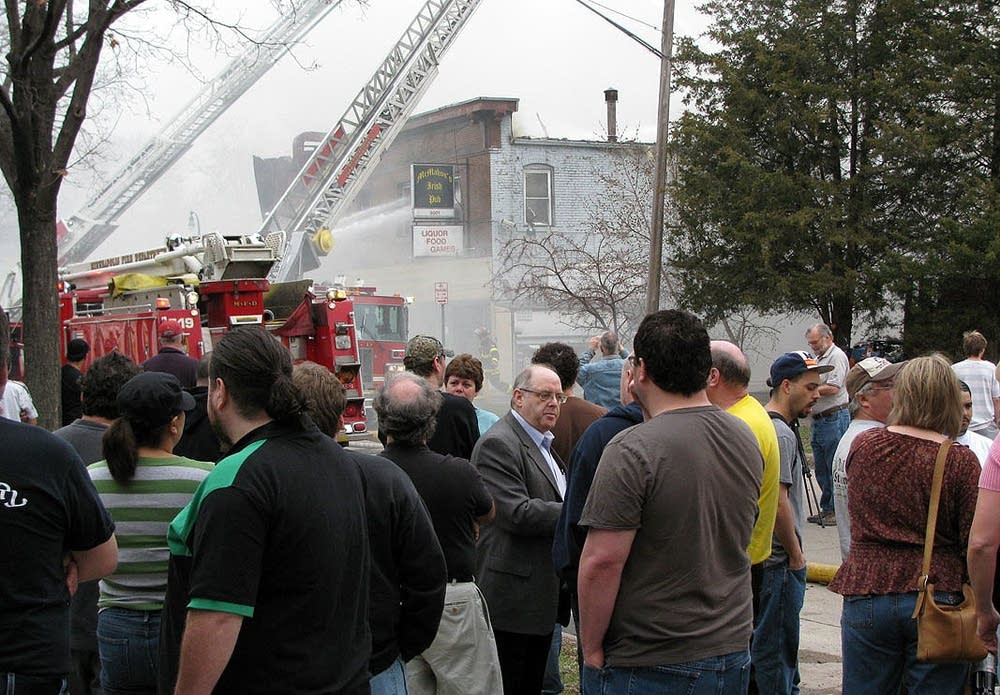 McMahon's Pub fire