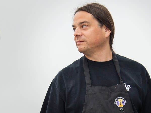 Chef Sean Sherman, owner and CEO of The Sioux Chef