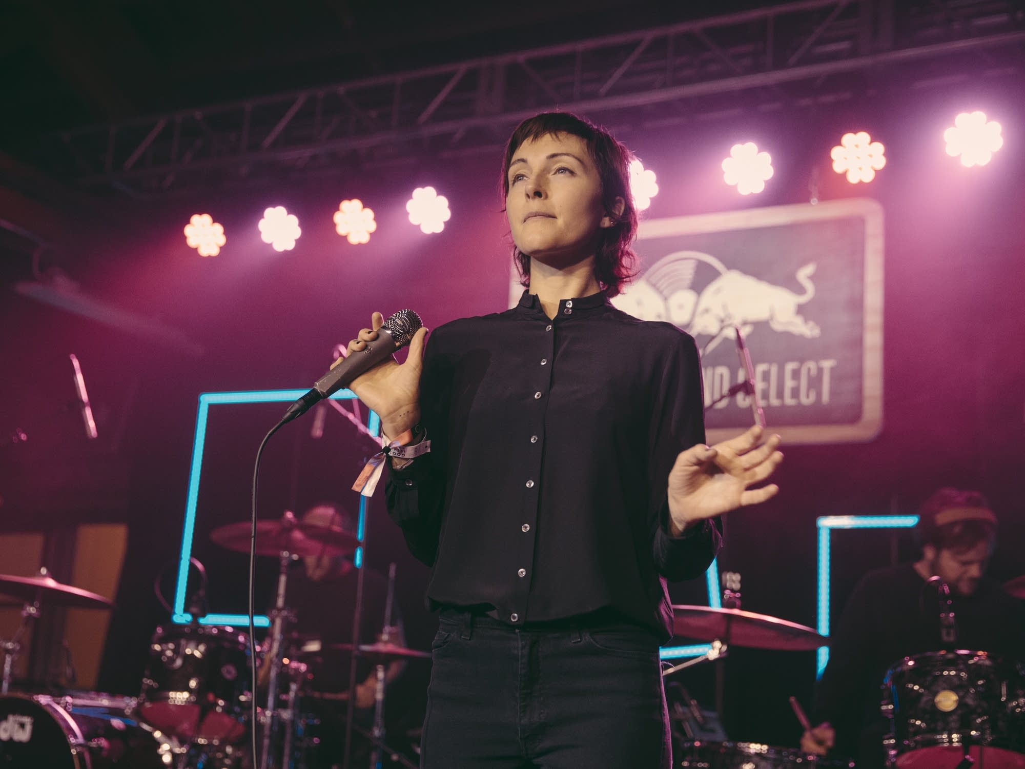 Polica perform at House of Vans in Chicago