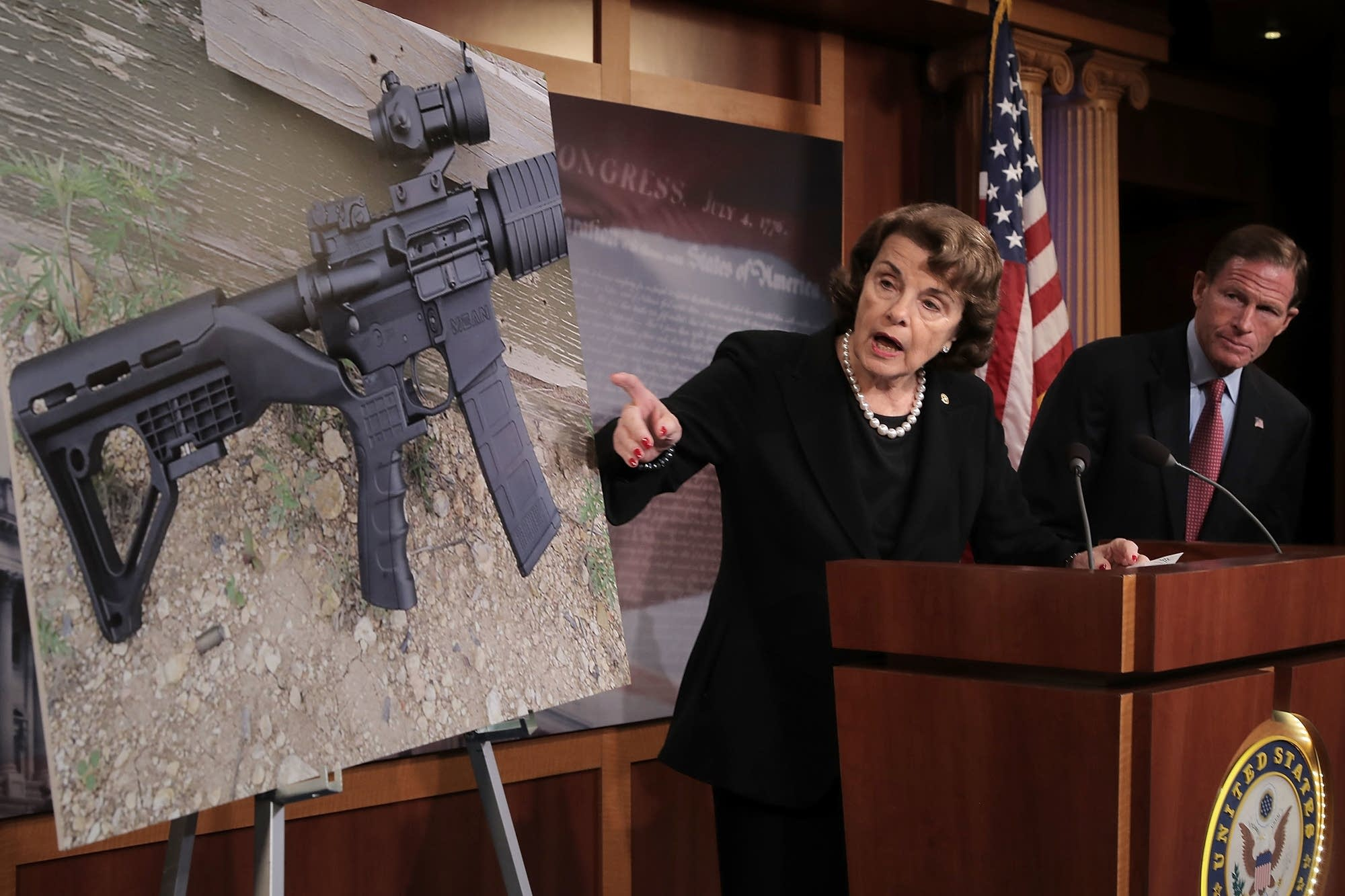Sen. Feinstein introduces bill to ban devices like a 'bump stock.'
